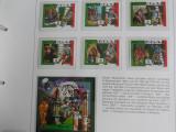 Serie timbre fotbal sport Campionatul Mondial de Foltbal din Italia 1990