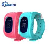 Pachet Promotional 2 Smartwatch-uri Pentru Copii Twinkler TKY-Q50 cu Functie Telefon, Localizare GPS, Pedometru, SOS - Roz + Turcoaz