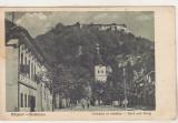 Bnk cp Rasnov - Rosenau - Comuna si cetatea - circulata 1936, Printata, Brasov