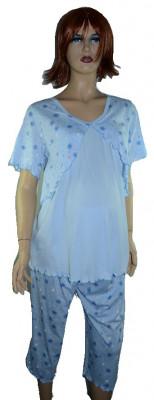 Pijama pentru alaptat-REGINA RGN4A, Albastru foto