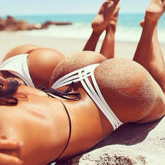 Bikini Mini Boxeri Chilotei Sexy in V Straps Costum de Baie Chiloti Brazilieni