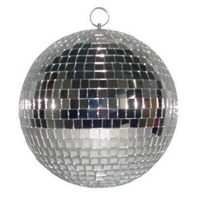 Glob cu oglinzi Madison, 51 cm, argintiu foto
