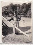 Bnk foto - Calugar roman - interbelica, Alb-Negru, Portrete, Romania 1900 - 1950