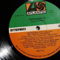 That's Soul vol III - Selectii (1970/Atlantic/RFG) - VINIL/