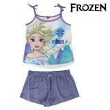 Pijama de Vară pentru Fete Frozen