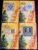 Catalogul Postei Imperiale Austro-Ungare 1850-1918 (4 vol), DDSG, DBSR, Bucovina