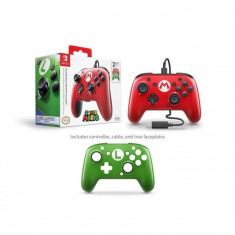 Controller Faceoff Deluxe Wired Pro Controller Super Mario Edition For Nintendo Switch