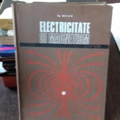 ELECTRICITATE SI MAGNETISM - AL. NICULA