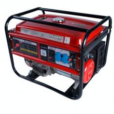 Generator de curent 5 KW pe benzina Raider Power Tools