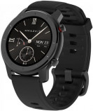 Cumpara ieftin Smartwatch Huami Amazfit GTR, Display AMOLED 1.2inch, Bluetooth, GPS, Bratara Cauciuc 42mm, Android/iOS (Negru)