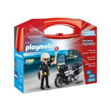 Set portabil Playmobil - Politia in actiune
