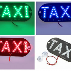 Panou led inscriptia TAXI 3 culori disponibile