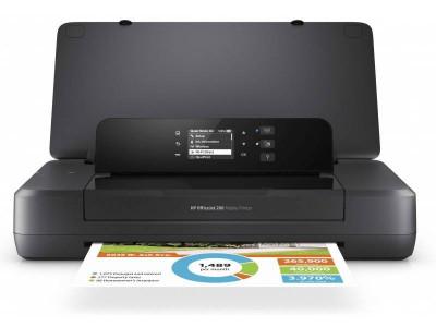 Imprimanta portabila HP OfficeJet 202 Neagra foto