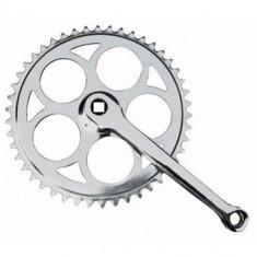 Angrenaj Foaie Pedalier 1 Foaie Bicicleta - 46 dinti - Patrat