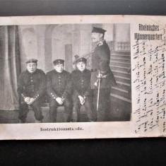 Carte Postala Militara, Germania 1907 - Ora de Instructie