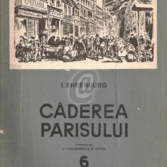 Caderea Parisului. Roman gazeta