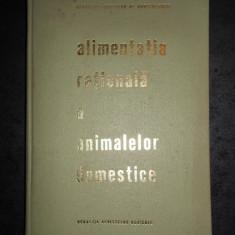 E. PALAMARU - ALIMENTATIA RATIONALA A ANIMALELOR DOMESTICE