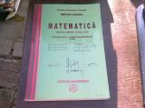 MATEMATICA MANUAL PENTRU CLASA A XI-A - MIRCEA GANGA