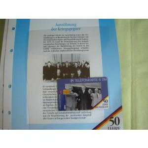 3 Cartele Telefonice 50 Jahre Deutschland - Exponate NOI / 4