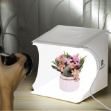 PULUZ photo studio portabil cu dublu led lightbox pt.fotografie de produs 22 cm
