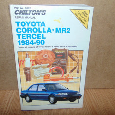 MANUAL REPARATII TOYOTA COROLLA MR2 1984-1990