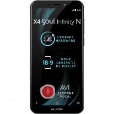 Telefon mobil X4 Soul Infinity N, Dual SIM, 32GB, 4G, Night Sky