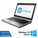 Laptop Hp EliteBook 2570p, Intel Core i5-3210M 2.50GHz, 8GB DDR3, 320GB SATA, DVD-RW, 12.5 Inch + Windows 10 Home