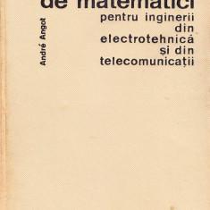 C omplente de matematici pentru inginerii din electrotehnica si telecomunicatii