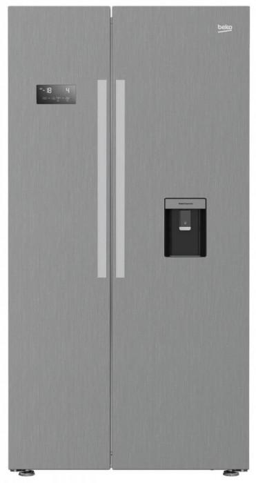 Frigider Side by Side Beko GN163320PT 554 Litri Clasa A++ Argintiu