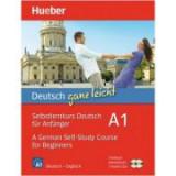 Deutsch ganz leicht A1 Selbstlernkurs Deutsch fur Anfange. Paket Textbuch + Arbeitsbuch + 2 Audio-CDs - Renate Luscher