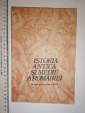 Cumpara ieftin MANUAL ISTORIA ANTICA SI MEDIE A ROMANIEI CLASA A 8 A -1981