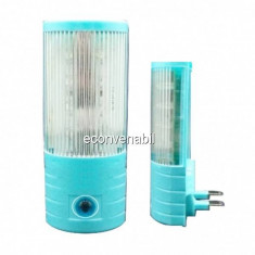 Lampa de veghe 8LED Senzor de Lumina A106