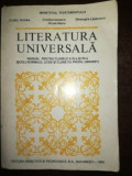 Literatura Universala - Manual pentru clasele a XI-a si XII-a - Ovidiu Drimba, Cristina Ionescu