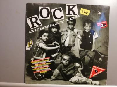 Rock Generation – Selectii – 2LP Set (1990/EMI/Holland) - Vinil/Vinyl/ca Nou foto