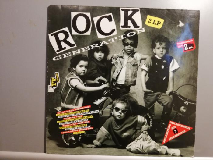Rock Generation – Selectii – 2LP Set (1990/EMI/Holland) - Vinil/Vinyl/ca Nou