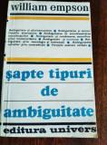 SAPTE TIPURI DE AMBIGUITATE  TD