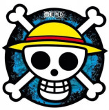 Mouse Pad ABY Style One Piece, Skull Shape (Multicolor)