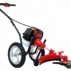 Motocoasa cu roti de deplasare (complet cu accesorii)