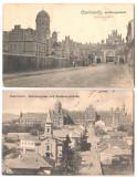 SV * Cernauti * LOT 2 x RESEDINTA METROPOLITANA * MITROPOLIA * 1922-1923, Circulata, Fotografie, Printata