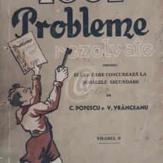 Cheia celor 1001 probleme rezolvate din aritmetica si geometrie pentru elevii care concureaza la scoalele secundare, vol. 2