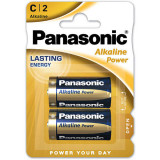 Baterii Panasonic Alkaline Power Bronze LR14/C 2 bucati