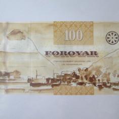 Cumpara ieftin Rara! Insulele Faroe/Faeroe/Foroyar 100 Kronur 2011 UNC