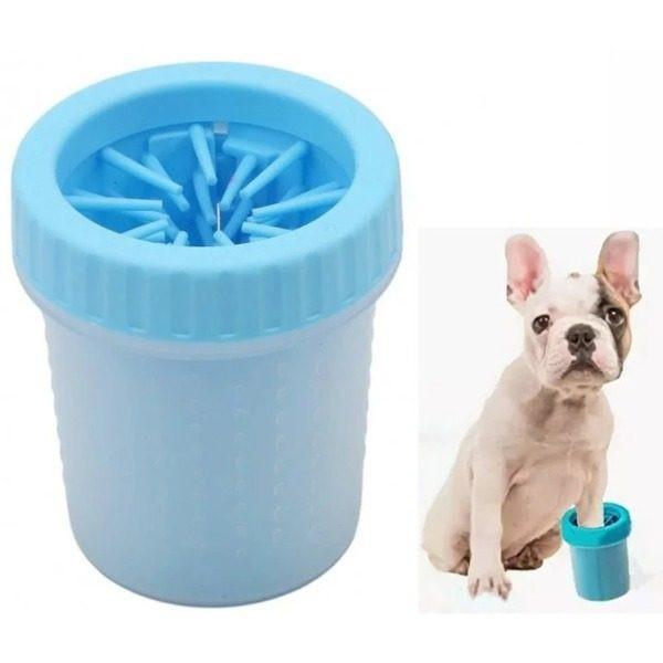 Dispozitiv de curatare a labutelor animalelor de talie mica, Soft Gentle Silicone Bristles
