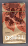 Pachet tigari de colectie Romania Cismigiu plin epoca comunista sigilat