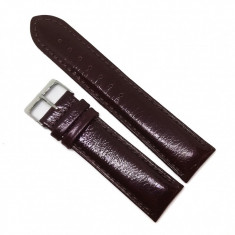 Curea de ceas Alfa - Rosie Lucioasa - 20mm, 22mm - WZ3650
