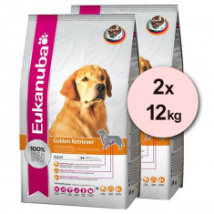 Cumpara ieftin EUKANUBA GOLDEN RETRIEVER - 2 x 12 kg