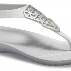 Sandale Femei Plajă Crocs Serena Embellished Flip