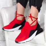 Pantofi sport Mariva rosii -rl