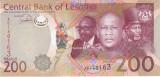 Bancnota Lesotho 200 Maloti 2015 - P25c UNC