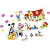 Cumpara ieftin Sticker decorativ cu desene animate Happy Farm autocolant de perete pentru camera copii, 90x60cm
